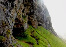 Landschap ten noordwesten van Ullapool Inchnadamph wandeling10 de 3 Bone Caves