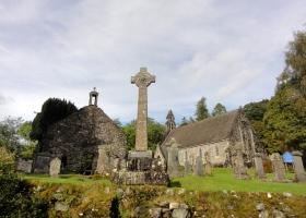 Balquhidder Church + graveyard verkleind