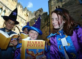 Alnwick met Harry Potter