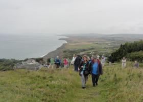 Wandeling in Isle of Wight