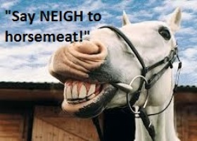 Say Neigh to horsemeat