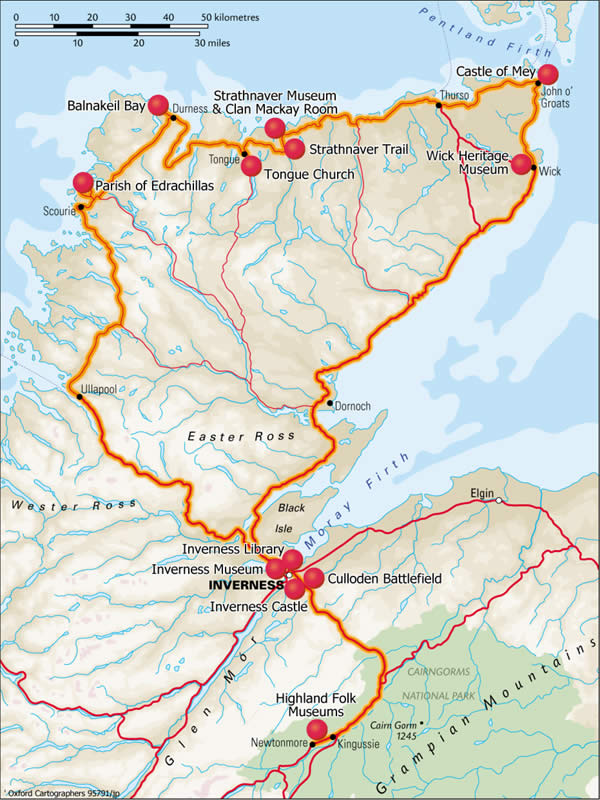 Mackay_Itinerary_Map
