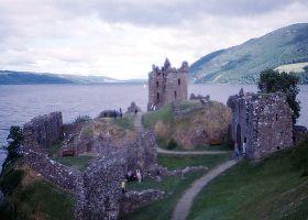 Urquhart Castle buitenkant