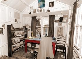 Dylan Thomas woonkamer
