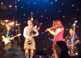 Visit Scotland Expo 2014 band tijdens Ceilidh klein