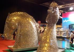 Visit Scotland Expo 2014 the Kelpies klein