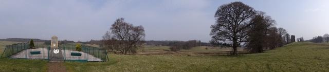Wandeling bij Douglas Cameronian panorama