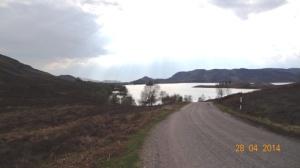 Stille kant Loch Ness klein