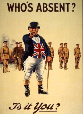 John_Bull_-_World_War_I_recruiting_poster