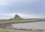 Lindisfarne Castle in de verte