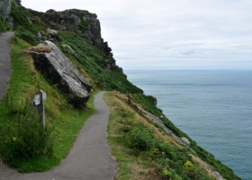 Lynton The Valley of the Rocks coastpath