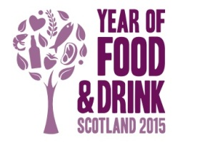 Logo Year of Food & Drink Scotland 2015