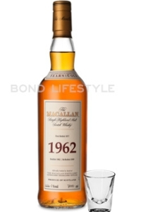Macallan whisky uit 1962