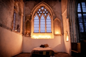 Slapen in de kerk