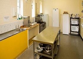 YHA hostel Wooler de keuken
