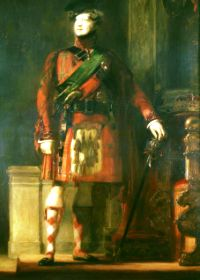 George IV in kilt