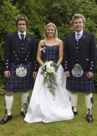 Highland dress for weddings