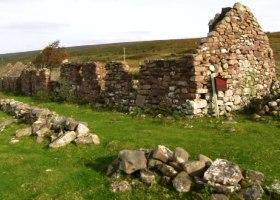 Overblijfsel Highland Clearances klein
