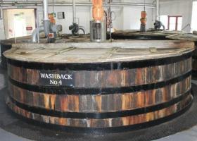 Strathisla Distillery washback