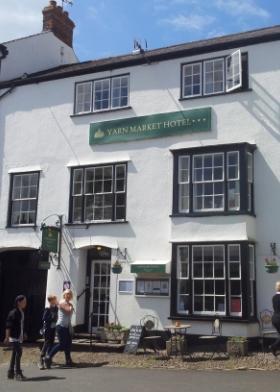Yarn Market Hotel Dunster