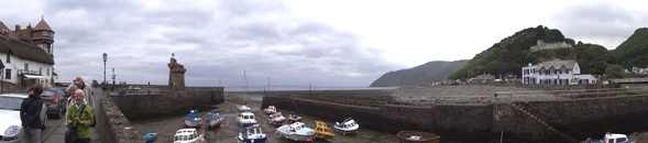 Lynmouth panorama klein