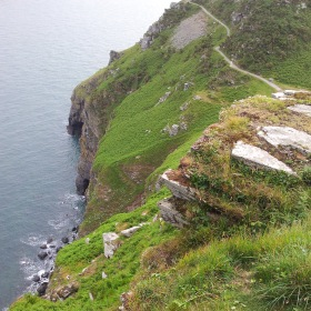 Valley of the Rocks klein