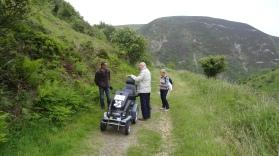 Wandeling bij Heddon's Mouth via kustpad (1)