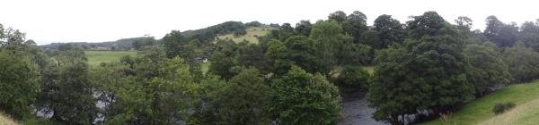 Dales Way Ilkley naar Burnsall (23) panorama klein