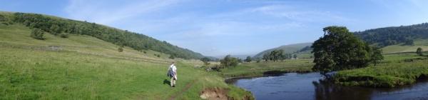 Kettlewell naar Ribblehead (18) panorama klein