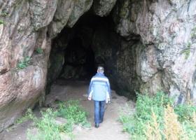 Kintyre Keil Caves, St Columba's Chapel, Footstep (25)