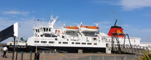 Caledonian veerboot 500