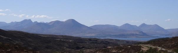 Isle of Skye Kyliakin naar Glenbrittle (7) panorama