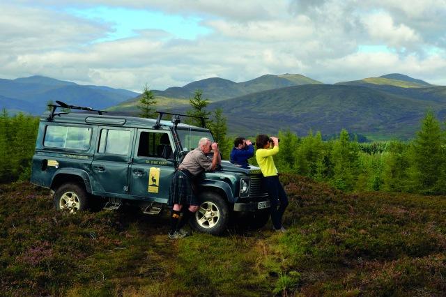 Highland Safaris jeep