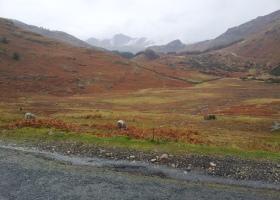 Lake District omgeving Hard Knot Pass klein