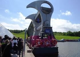 Boottochtje met het Falkirk Wheel (3) klein