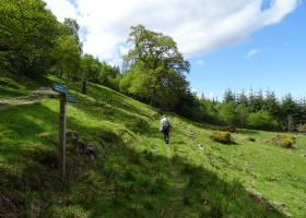 Cateran Trail dag 1 Blairgowrie naar Kirkmichael (2) klein