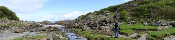 Kust tussen Portuairk en Sanna (2) panorama klein