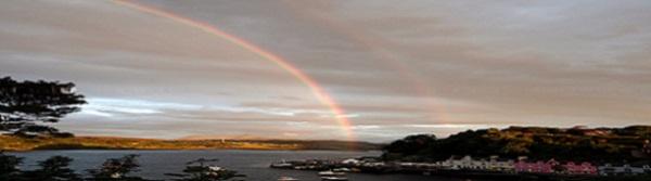 Portree met regenboog @SBodde (2) panorama