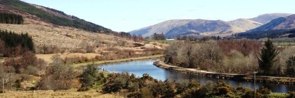 Caledonian Canal panorama 600
