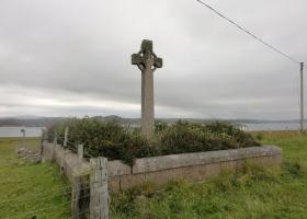 Het kruis bij de abbey