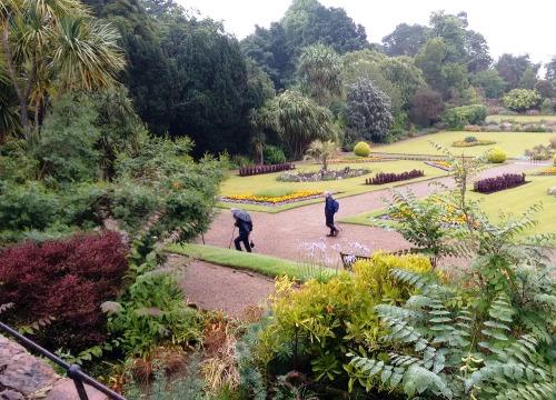 De tuinen van Brodick Castle op Arran @SFriso